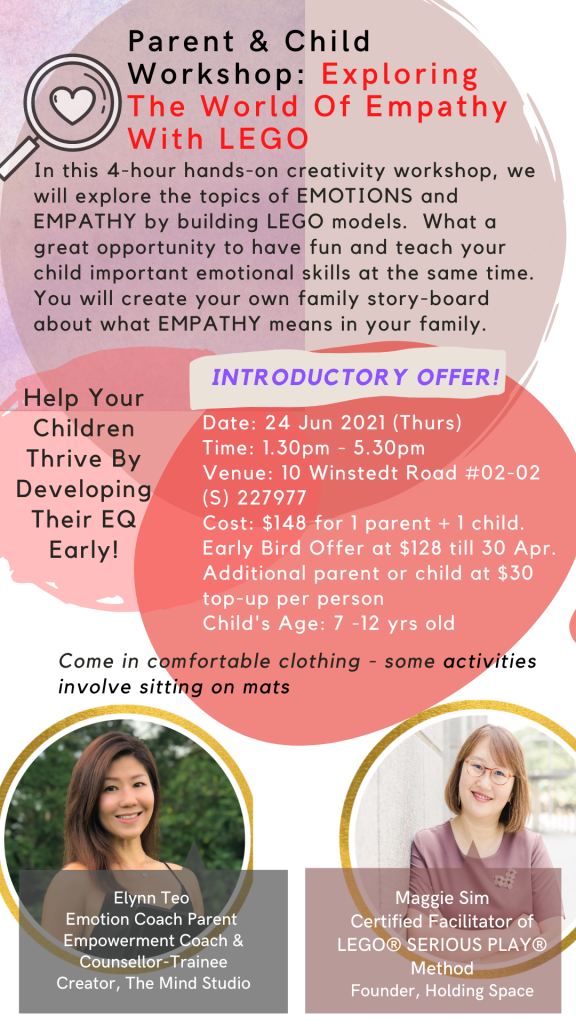 Parent & Child Workshop: Exploring The World of Empathy With LEGO